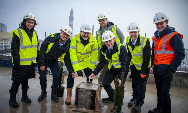 topping out school of engineering sml
