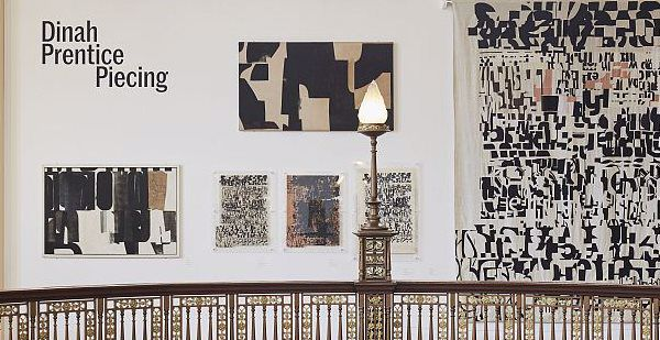 Photograph of Dinah Prentice temporary exhibition in the Rotunda Gallery