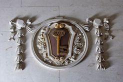 The crest of the Birmingham Municipal Bank