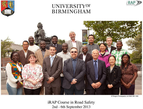 iRAP course in Road Safety